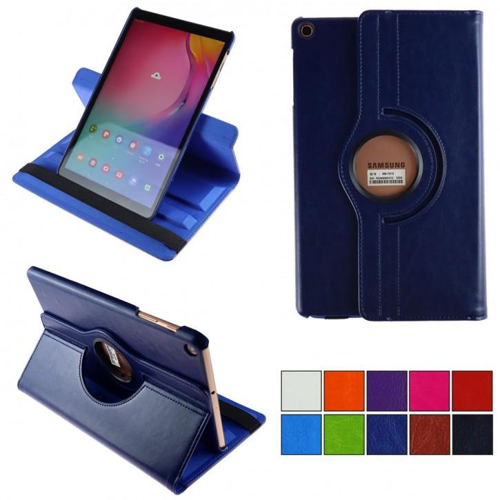 COOVY® 2.0 Cover für Samsung Galaxy TAB A 10.1 (Model 2019) SM-T510 SM-T515 Rotation 360° Smart Hülle Tasche Etui Case Schutz Ständer