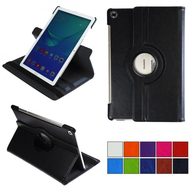 """COOVY® 2.0 Cover für Huawei MediaPad M5 10 (10.8"""") Rotation 360° Smart Hülle Tasche Etui Case Schutz Ständer Auto Sleep/Wake up  """