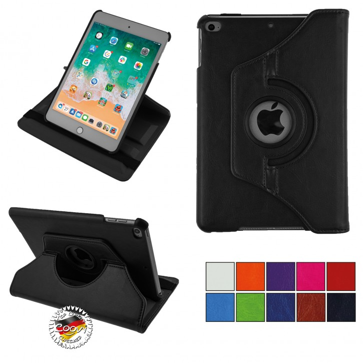 COOVY® 2.0 Cover für Apple iPad mini 5 (Model 2019) Rotation 360° Smart Hülle Tasche Etui Case Schutz Ständer Auto Sleep/Wake up |