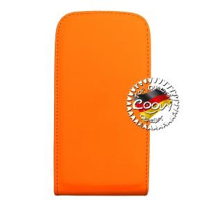 COOVY® Cover für Samsung Galaxy S3 GT-i9300 GT-i9305 Neo GT-i9301 Slim Flip Case Tasche Etui inklusive gratis Displayschutzfolie   Farbe orange