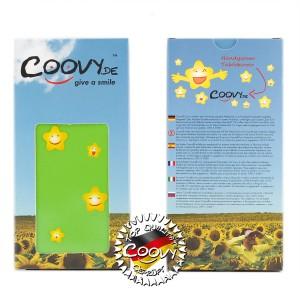 COOVY® Cover für Sony Xperia Z2 D6502 D6503 Slim Flip Case Tasche Etui inklusive gratis Displayschutzfolie   Farbe grün