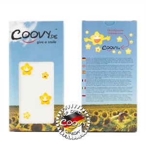 COOVY® Cover für Sony Xperia Z L36h L36i C6603 C6602 Slim Flip Case Tasche Etui inklusive gratis Displayschutzfolie | Farbe weiss