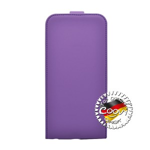 COOVY® Cover für Apple iPhone 6 + plus Slim Flip Case Tasche Etui inklusive gratis Displayschutzfolie | Farbe lila