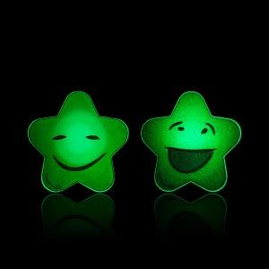 """COOVY® Premium Magnet Holder im """"SMILEY LEUCHT STERN DESIGN"""", Universal Halterung für alle Navis, Handys und Tablets, Halterung für KFZ, Haushalt, Office, Werkstatt, hunderte geniale Einsatzmöglichkeiten, Farbe orange"""