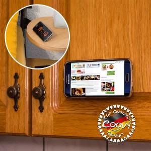 COOVY® Handyhalterung Magnet Universal Auto Halterung KFZ Halter für iPhone 11 pro max X XS XR 8 7 6s 6 Samsung Galaxy Note S10 S9 S8 S8 S6 Huawei, jedes Smartphone, GPS   Farbe rot