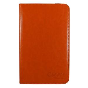 COOVY® 2.0 Cover für Samsung Galaxy TAB 3 8.0 SM-T3100 T3110 T3150 SM-T310 T311 T315 Rotation 360° Smart Hülle Tasche Etui Case Schutz Ständer Auto Sleep/Wake up | Farbe orange
