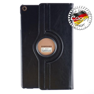 COOVY® 2.0 Cover für Samsung Galaxy TAB A 10.1 (Model 2019) SM-T510 SM-T515 Rotation 360° Smart Hülle Tasche Etui Case Schutz Ständer | schwarz